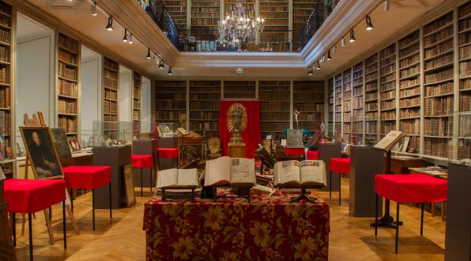 Visite de la bibliothèque ancienne du grand séminaire de Strasbourg